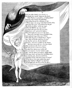 William Blake, painter and poet (page 25 facing)