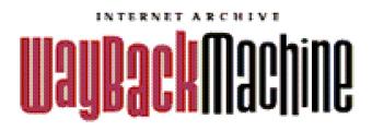 Internet Archive Wayback Machine logo