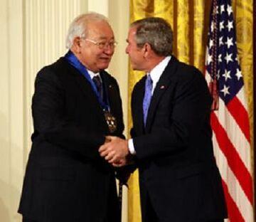 N Scott Momaday George W Bush