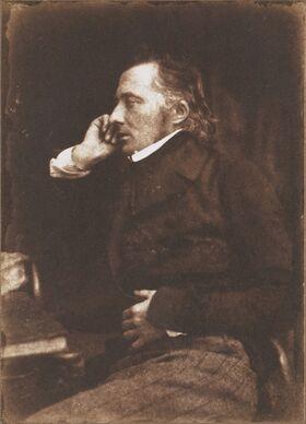 John Stewart Blackie by David Octavius Hill, 1845
