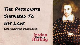The Passionate Shepherd To His Love - Christopher Marlowe poem reading Jordan Harling Reads