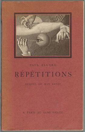 Eluard,Répétitions, 1922 - cover