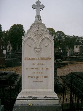 Rimbaud - tombe à Charleville