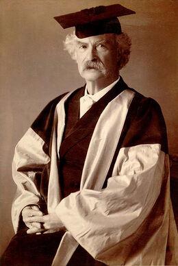 Mark Twain DLitt
