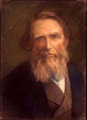 John Ruskin after Herkomer