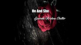 He And She (Govinda Krishna Chettur Poem)