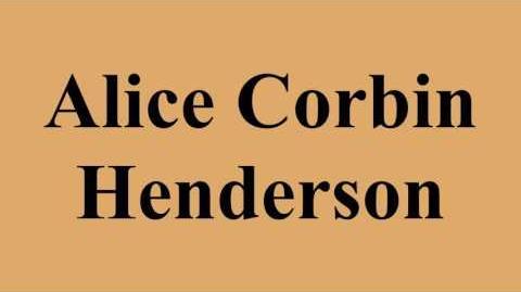 Alice Corbin Henderson