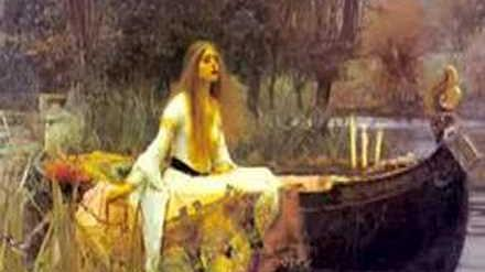 THE LADY OF SHALOTT' -Alfred Lord Tennyson