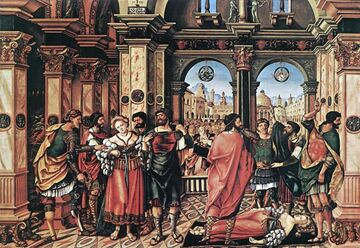 Joerg Breu the Elder - The Suicide of Lucretia (1)