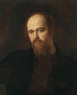 Dante Gabriel Rossetti by George Frederic Watts