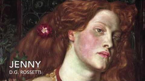 Jenny by Dante Gabriel Rossetti (1870) - read by Charlotte Rose Wright