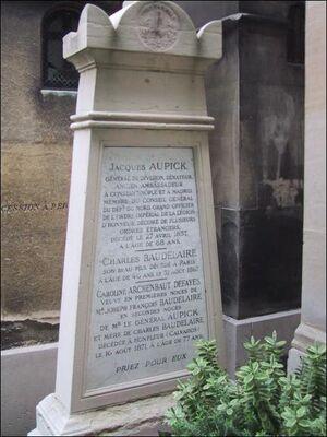 Tombe Baudelaire
