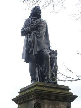450px-John Wilson aka 'Christopher North' statue, Princes Street Gardens