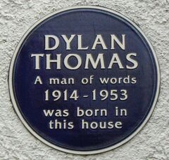 Dylan Thomas plaque