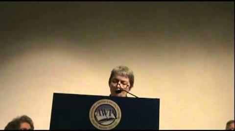"""Janet Holmes reads """"Partch Stations — Parts 1, 2, 3, 4, 6, 7, 10, 13, 14"""""""