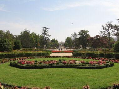 Aranjuez JardinParterre CoronaFloral