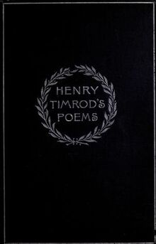 Poemsofhenrytimr00timrrich 0001