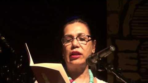 """Ana Castillo Reads """"Chicken."""" ---www.voicesdelaluna"""