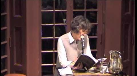 """Mei Mei Berssenbrugge reads the opening of """"Empathy"""""""