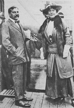 Sir Edgar & Lady Leonora Speyer circa 1921