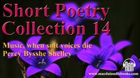 Music, when soft voices die poem by Percy Bysshe Shelley Short Poetry Collection 14 Free Audio Poem