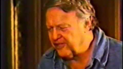 """James Dickey reading """"Under Buzzards,"""" (a poem for Robert Penn Warren) at Yale"""