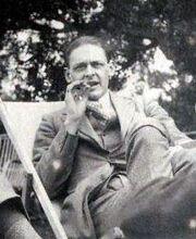 T.S. Eliot, 1923