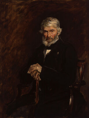 Thomas Carlyle by Sir John Everett Millais, 1st Bt