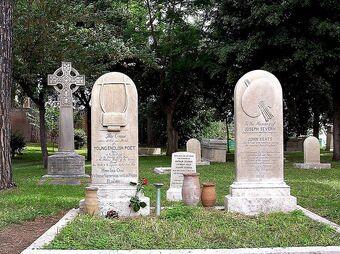 Keats grave