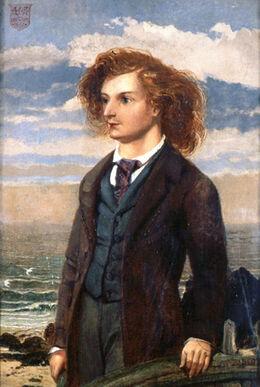 Algernon Charles Swinburne by William Bell Scott