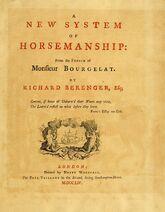 New system of horsemanship BHL24294141