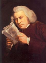 Samuel Johnson by Joshua Reynolds 2