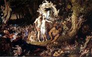 Joseph Noel Paton - The Reconciliation of Titania and Oberon