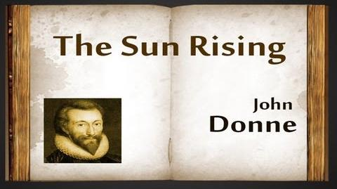 The Sun Rising by John Donne - Poetry Reading