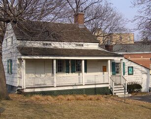 Edgar Allan Poe's house in the Bronx