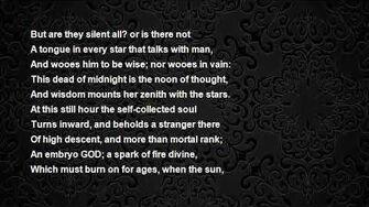 A Summer Evenings Meditation Poem by Anna Laetitia Barbauld