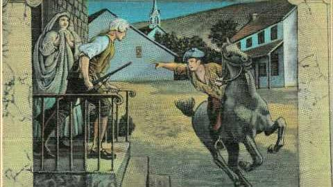 """""""Paul Revere's Ride"""" by Henry Wadsworth Longfellow"""