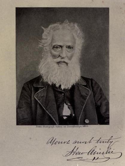 Poet Hew Ainslie