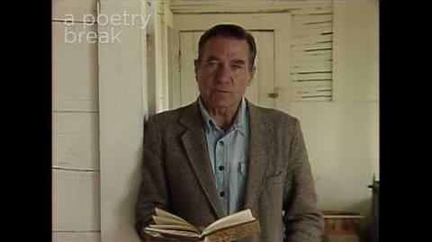 """Poetry Breaks Galway Kinnell Reads """"Daybreak"""""""