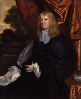 Abraham Cowley by Sir Peter Lely
