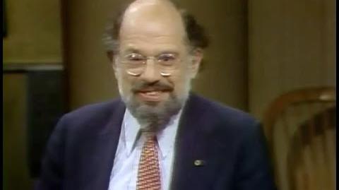 Allen Ginsberg on Late Night, June 10, 1982