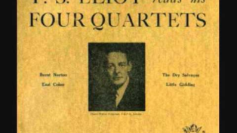T S Eliot reads his Four Quartets