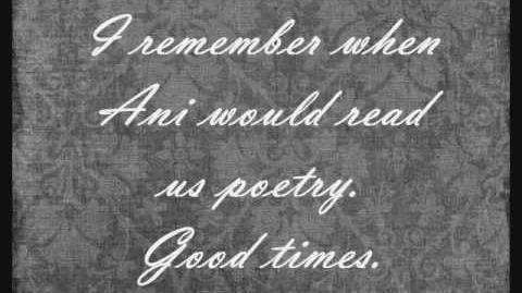 "Ani DiFranco ""Detroit Annie"" poem by Judy Grahn"