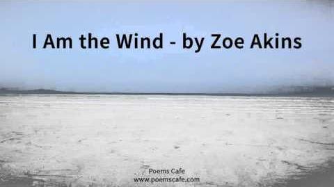 I Am the Wind by Zoe Akins