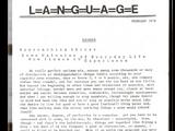 Language poets
