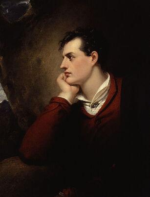 458px-George Gordon Byron, 6th Baron Byron by Richard Westall (2)