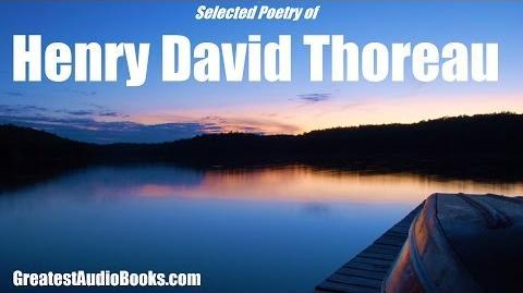 POETRY OF HENRY DAVID THOREAU - FULL AudioBook GreatestAudioBooks
