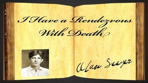 I Have A Rendezvous With Death by Alan Seeger - Poetry Reading