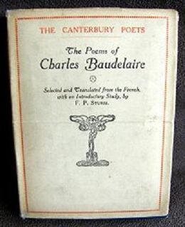 Poems of baudelaire