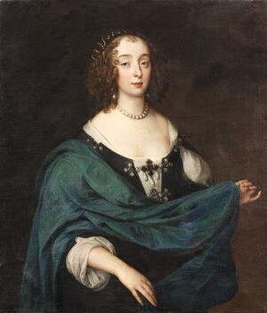Henrietta Maria av Frankrike - Skoklosters slott - 88967